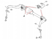 Rear Anti Roll Bar & Stabiliser Links (A.C.E.)